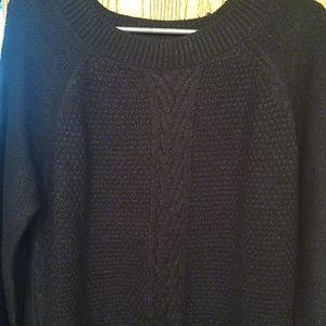 Relativity black sweater